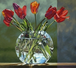 Tulips, Early Spring by Lenni Workman